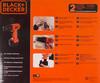 Дрель-шуруповерт BLACK & DECKER CD121K-RU вид 11