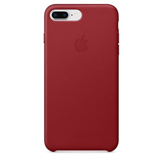 Чехол (клип-кейс) APPLE MQHN2ZM/A, для Apple iPhone 7 Plus/8 Plus, красный apple чехол клип кейс apple для apple iphone 7 mmy52zm a черный