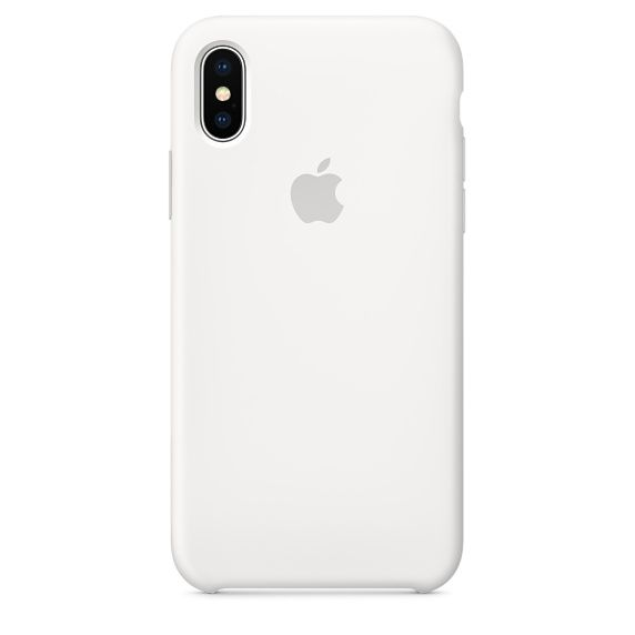 Чехол (клип-кейс) APPLE MQT22ZM/A, для Apple iPhone X, белый apple чехол клип кейс apple для apple iphone 7 mmy52zm a черный