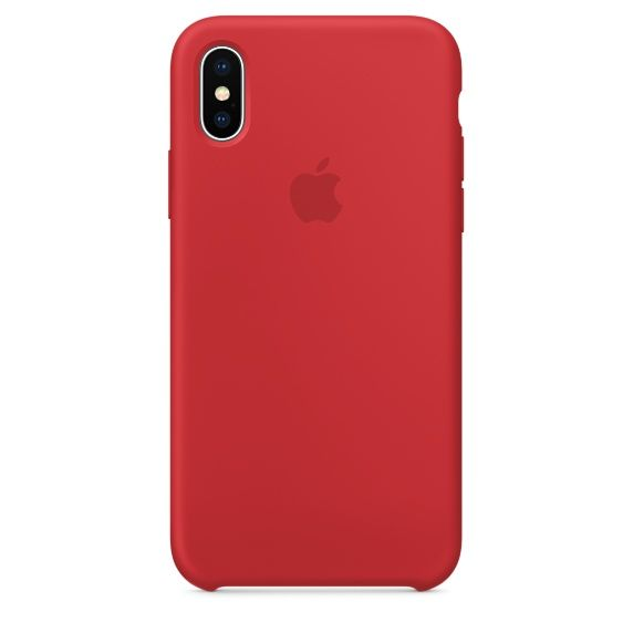 Чехол (клип-кейс) APPLE MQT52ZM/A, для Apple iPhone X, красный apple чехол клип кейс apple для apple iphone 7 mmy52zm a черный