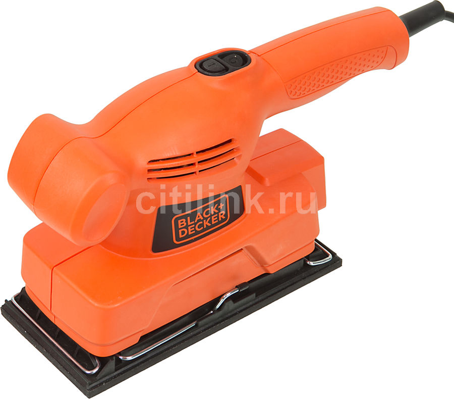 Виброшлифмашина BLACK & DECKER KA300-XK