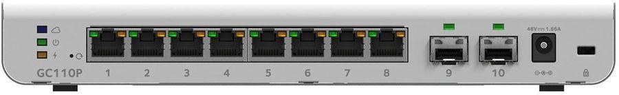 Коммутатор NETGEAR GC110P-100PES, GC110P-100PES