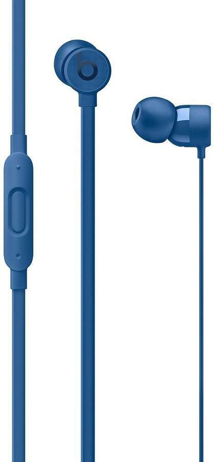 Наушники с микрофоном BEATS Urbeats3, 3.5 мм, вкладыши, голубой [mqfw2ze/a]