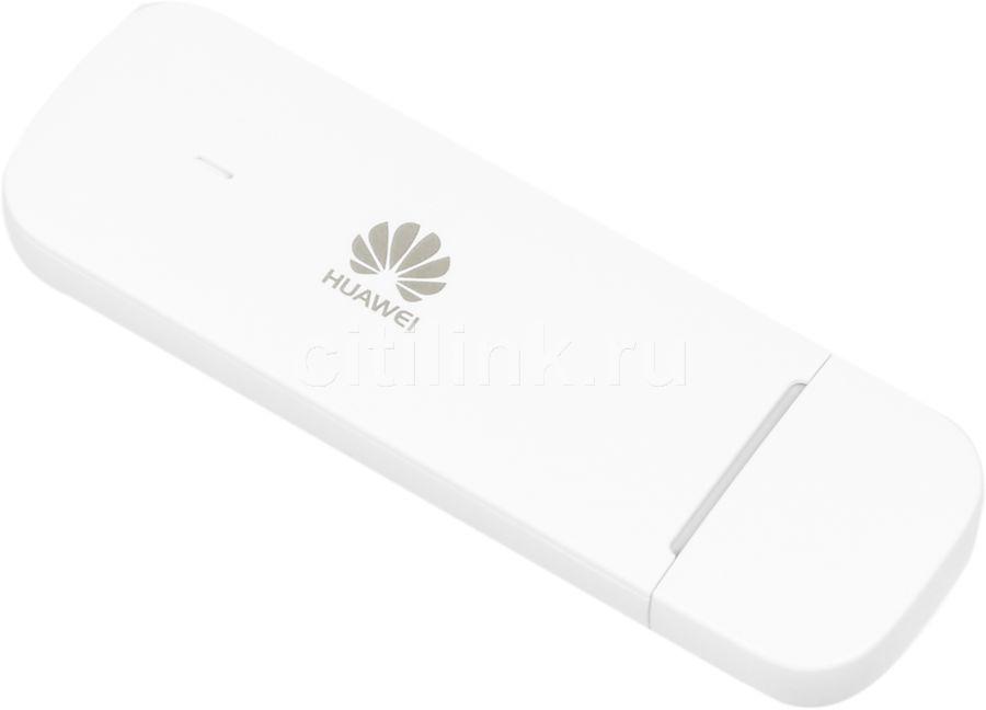 Модем HUAWEI E3372h-153 2G/3G/4G, внешний, белый [51071pqv]