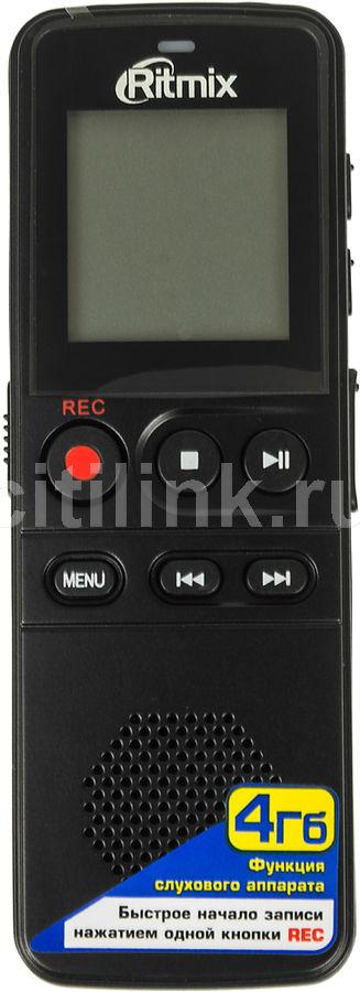 Диктофон RITMIX RR-810 4 Gb,  черный [15118208]