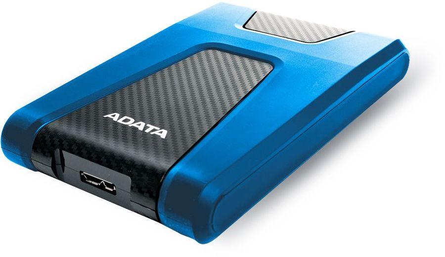 Внешний жесткий диск A-DATA DashDrive Durable HD650, 1Тб, синий [ahd650-1tu31-cbl]