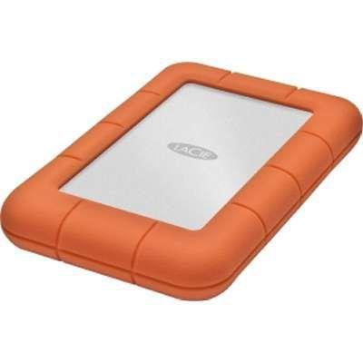 Внешний жесткий диск LACIE Rugged Mini LAC9000298, 2Тб, оранжевый