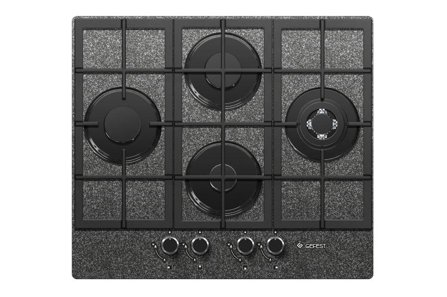Варочная панель GEFEST ПВГ 2231-01 К43,  независимая,  черный