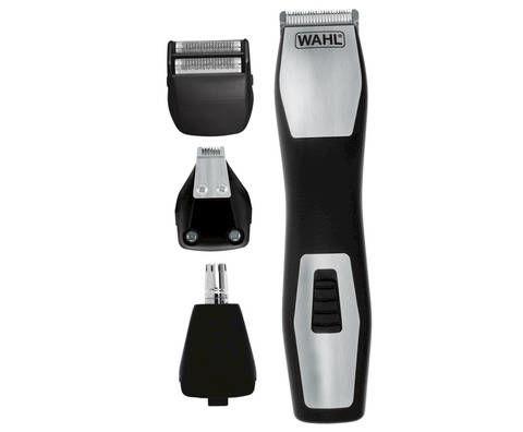 Триммер WAHL GroomsMan Pro, черный/серебристый [9855-1216]