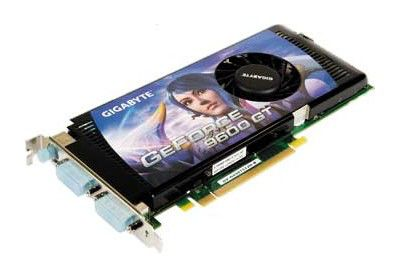 Видеокарта GIGABYTE GeForce 9600 GT,  512Мб, DDR3, oem [gv-nx96t-512h]