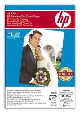 Бумага HP SD684A (2шт х Q8027A) Глянцевая высшего качества, 10x15, 280 г/м2 (25 листов)