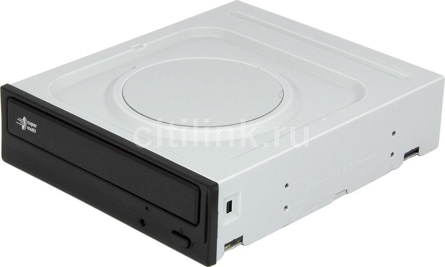 Оптический привод DVD-RW LG GH22NP20, внутренний, IDE, черный,  OEM [gh22np20.auaa10b]