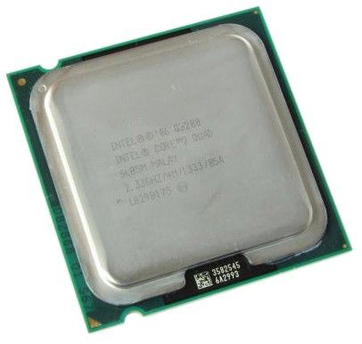 Процессор INTEL Core 2 Quad Q8200, LGA 775 [bx80580q8200 s lb5m]