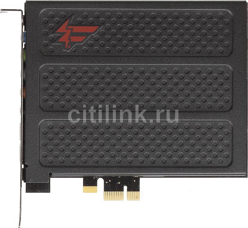Звуковая карта PCI-E CREATIVE X-Fi Titanium Fatal1ty Pro,  7.1, Ret [70sb088600000]