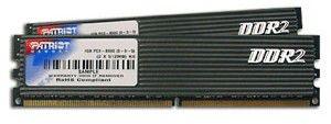 Модуль памяти PATRIOT DDR2 -  2x 1Гб 1066, DIMM,  OEM
