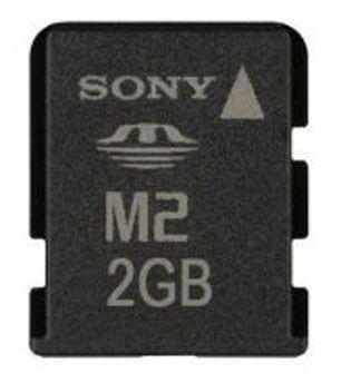 Карта памяти Memory Stick Micro M2 SONY 2 ГБ, MSA2GU2
