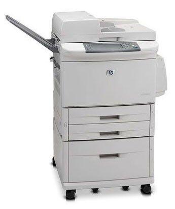 МФУ HP LaserJet M9050MFP,  A3,  лазерный,  белый [cc395a]