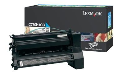 Картридж LEXMARK C780H1CG голубой