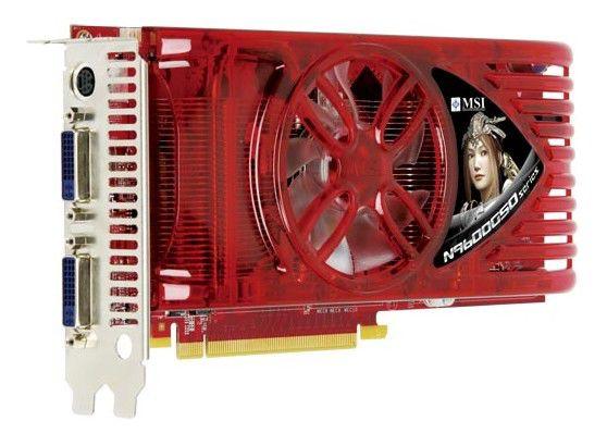 Видеокарта MSI GeForce 9600 GSO,  384Мб, DDR3, Ret