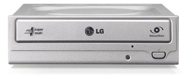 Оптический привод DVD-RW LG GH22NP20, внутренний, IDE, серебристый,  OEM [gh22np20.auaa10s]