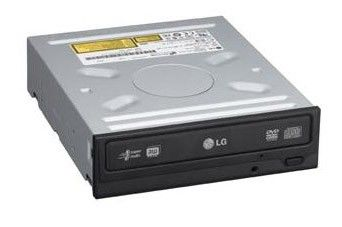 Оптический привод DVD-RW LG GH20NS15, внутренний, SATA, черный,  OEM