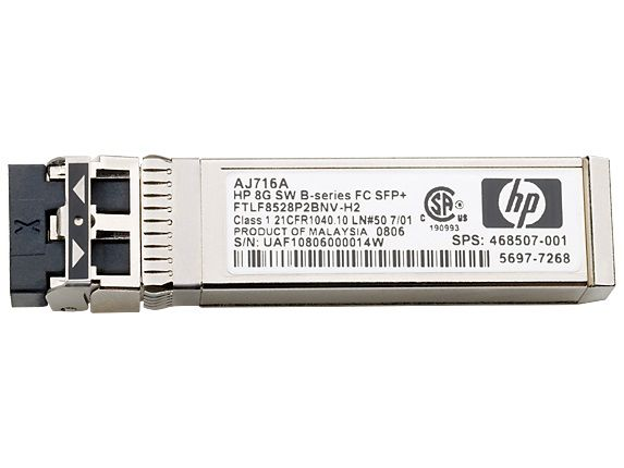 Трансивер HPE 4Gb LW B-series 30km FC SFP 1pack (AN211A)