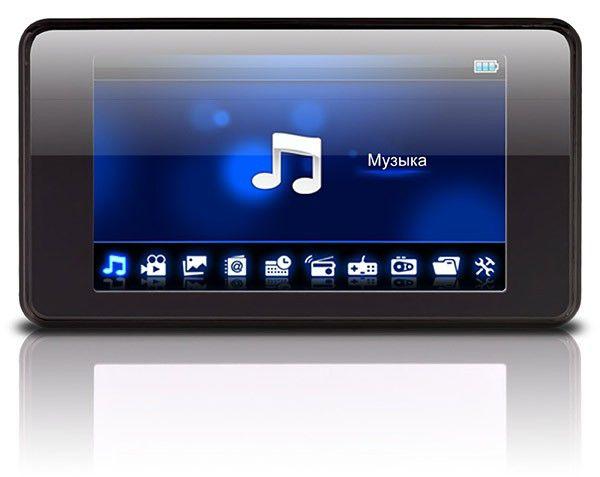 MP3 плеер DIGMA MP851 flash 4Гб черный [mp850]