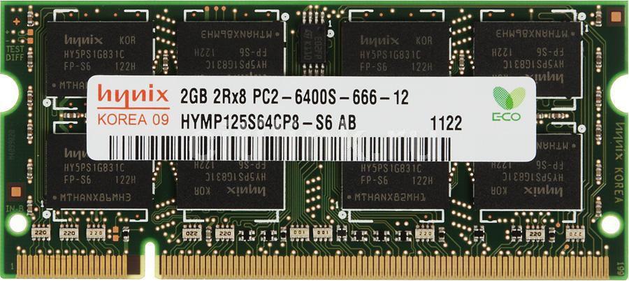 Модуль памяти HYNIX DDR2 -  2Гб 800, SO-DIMM,  OEM,  original