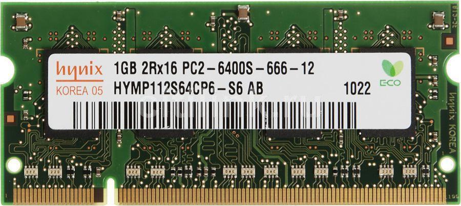Модуль памяти HYNIX DDR2 -  1Гб 800, SO-DIMM,  OEM