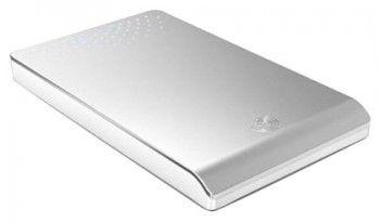 Внешний жесткий диск SEAGATE FreeAgent Go ST902503FJD105-RK, 250Гб, серебристый