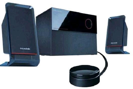 Колонки MICROLAB M-200,  черный [m-200 black]
