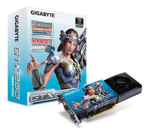 Видеокарта GIGABYTE GeForce GTX 260,  896Мб, DDR3, Ret [gv-n26oc-896h-b]