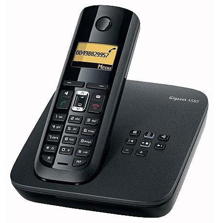 Радиотелефон GIGASET A585,  черный