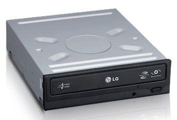 Оптический привод DVD-RW LG GH22NP20, внутренний, IDE, белый,  OEM [gh22np20.auaa10i]
