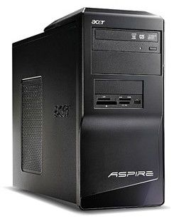 ACER Aspire M1641,  Intel  Pentium Dual-Core  E2200,  DDR2 1Гб, 160Гб,  nVIDIA GeForce 9300 GE - 256 Мб,  DVD-RW,  Windows Vista Home Basic,  черный [92.kvb75.rfb]