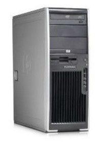HP xw4600,  Intel  Core2 Duo  E8600,  DDR2 2Гб, 500Гб,  DVD-RW,  CR,  Windows Vista Business,  серый и черный [kk503ea]