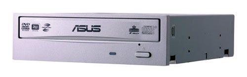 Оптический привод DVD-RW ASUS DRW-20B1ST, внутренний, SATA, серебристый,  OEM