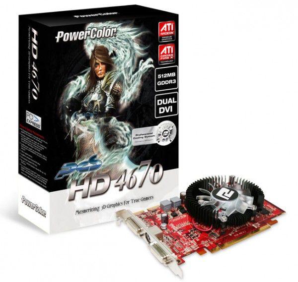 Видеокарта POWERCOLOR AMD  Radeon HD 4670 ,  512Мб, DDR3, oem [ax4670 512mk3-p]