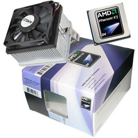 Процессор AMD Phenom X3 8750, SocketAM2+ BOX [hd875zwcghbox]