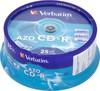 Оптический диск CD-R VERBATIM 700Мб 52x, 25шт., cake box [43352] вид 1