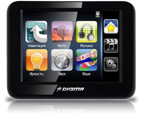 GPS навигатор DIGMA DM350,  3.5