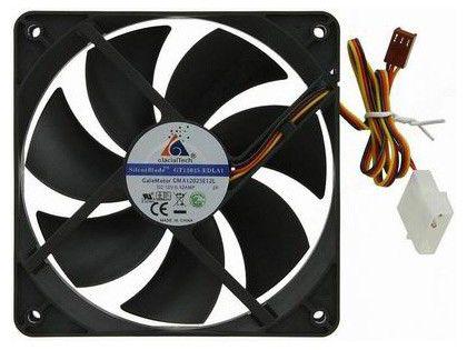Вентилятор GLACIALTECH GT12025-EDLA1,  120мм, OEM