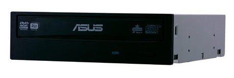 Оптический привод DVD-RW ASUS DRW-20B1ST, внутренний, SATA, черный,  OEM
