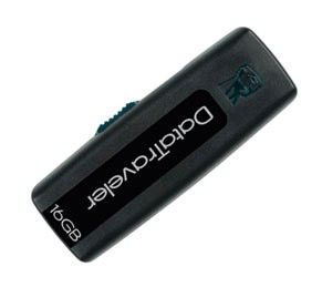 Флешка USB KINGSTON DataTraveler 100 16Гб, USB2.0, черный [dt100/16gb]