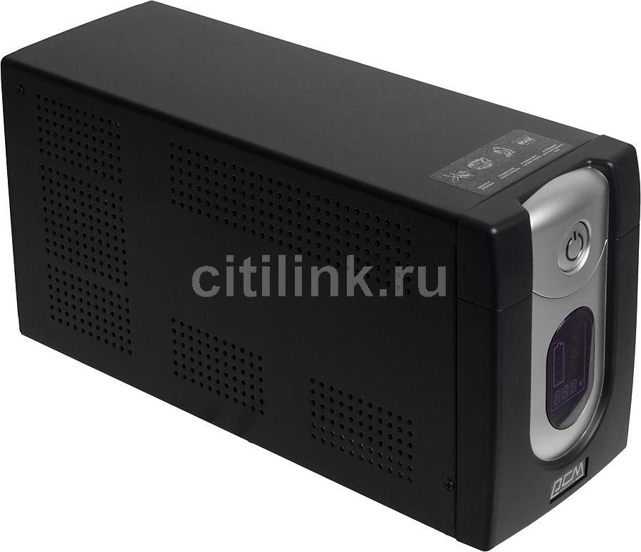 Источник бесперебойного питания Powercom IMD-1200AP (3 кабеля) (отремонтированный)
