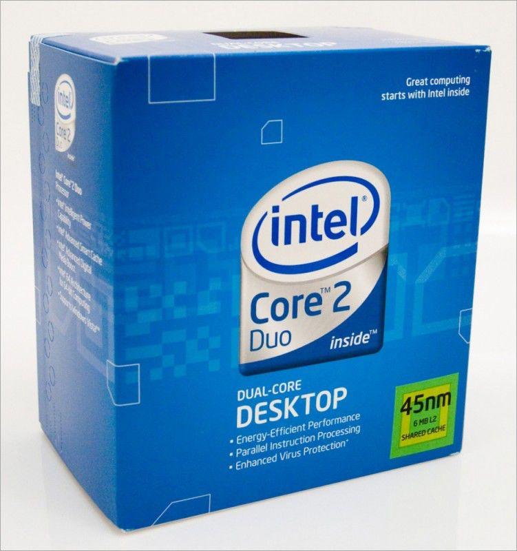 Процессор INTEL Core 2 Duo E7400, LGA 775 [bx80571e7400 s lb9y]