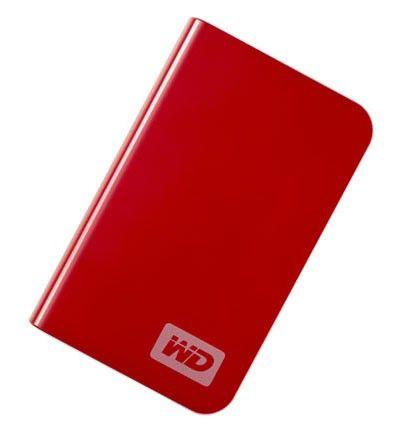 Внешний жесткий диск WD My Passport Essential WDMER4000TE, 400Гб, красный