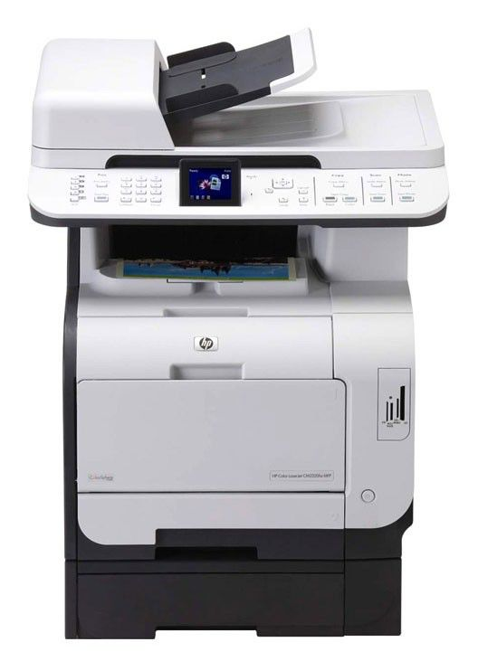 МФУ HP Color LaserJet CM2320fxi,  A4,  цветной,  лазерный [cc435a]