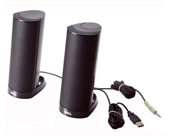 Колонки DELL AX210,  черный