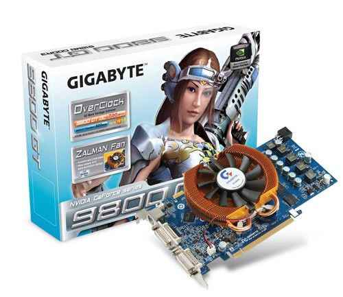 Видеокарта GIGABYTE GeForce 9800 GT,  512Мб, DDR3, Ret [gv-n98toc-512i]